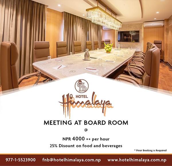 Meeting at Board Room